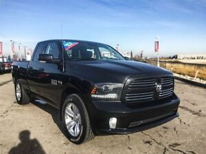 2015 Ram 1500 Sport|Heated Seats & Steering Wheel