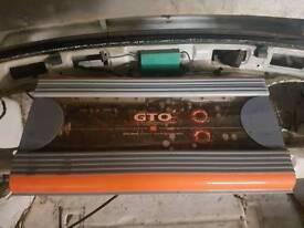 JBL gto 1100w 6 channel amp