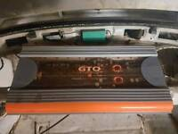 JBL gto 1100w 6 channel amp