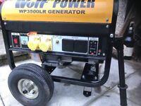 3200W petrol generator. Portable generator.