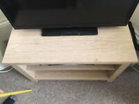 Brand new light pine coffee table or tv stand
