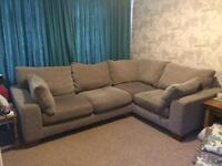 NEXT corner sofa good used condition new seat cushions 6 months ago