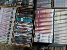 700 assorted DVDs