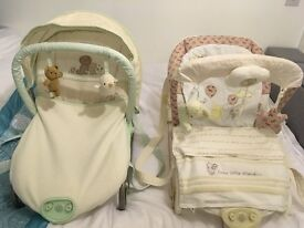 X 2 mothercare Baby rockers