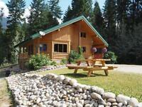Robson Valley Log Home on 4 acres for Sale