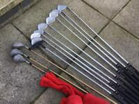 Howson Left Handed Golf Clubs