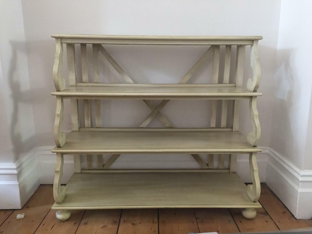 French Country Style Shelf Book Unit