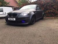 BMW 530d Custom Modified powerful BBS fast widebody, ATS kit (not m5) px swap