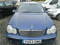 MERCEDES-BENZ C CLASS C220 CDI Avantgarde 5dr 2 KEYS, WILL COME WITH FULL MOT, ECONOMICAL DIESEL