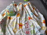Excellent condition curtains and light shade for nursery