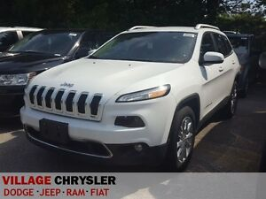 2016 Jeep Cherokee 4X4 LIMITED V6, Leather,LuxuryGroup,Tow Group
