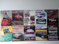 Vintage editions of CAR Magazine from 1989. 10 issues.
