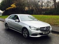 2014 Mercedes-Benz E Class 2.1 E220 CDI SE 7G-Tronic Plus 4dr SILVER**MEGA SPEC**FACE LIFT