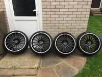 "Mercedes 19"" AMG 63 rep alloy wheels"