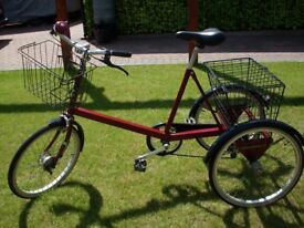 Adult Pashley Tricycle - Excellent Condition.