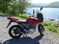 Motorbike is in very good condition and very economical.