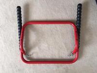 Halfords bike rack £5