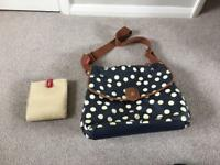 Babymel Spotty Change Bag
