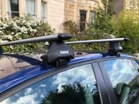 Thule 711300 EVO WingBars 127cm with EVO CLAMP 7105 (from VW GOLF 5)