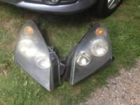 Vauxhaull Astra Front Head Lamps & Tail Lights Set