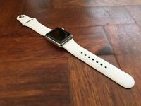 Apple Watch 38mm Stainless Steel with 8 months AppleCare+ Warranty
