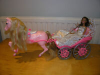 barbie coach and horse