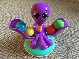 Little Tikes Ocean Explorers Ball Chase Spinning Octopus - Excellent Condition