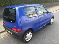 CHEAP AND CHEERFULL FIAT SEICENTO HATCHBACK. 900CC ENGINE. CAR STARTS FIRST TIME AND DRIVES SMOOTH