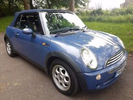 MINI COOPER 1.6 CONVERTIBLE CABRIOLET ~ LOVELY CAR