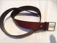 Men's CK Calvin Klein leather belt