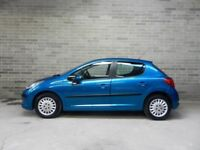 Superb Value 2008 Peugeot 207 1.6 HDI Diesel S 5 Dr Hatch 72000 Mls AirCon 65+ MPG £20 TAX HPI Clear