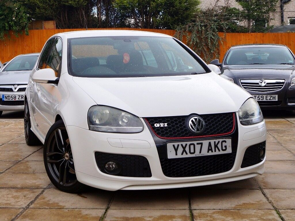 2007 VW GOLF 2.0 GTI TFSI WHITE ***EDITION 30 KIT+T/BELT DONE*** *** s3 r32 r20 dsg gtd gt a3 s line