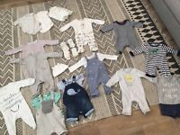 Baby boy 0-3 month clothes