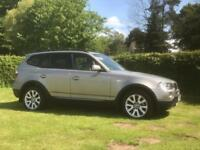 BMW X3 2.0 Diesel 56 plate Very Clean will Part ex for Caravan