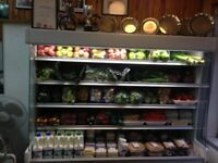 6ft Dairy cabinet fridge display unit