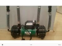 Salamander CT75 Twin Shower Pump