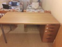 in a good condition study/or office table with a drawer
