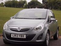 VAUXHALL CORSA 1.2 2013 PETROL 24,000 MILEAGE ONLY! FULL SERVICE HISTORY & LONG VALID M.O.T