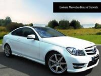 Mercedes-Benz C Class C250 CDI AMG SPORT EDITION PREMIUM PLUS (white) 2015-05-14