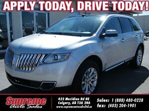 2011 Lincoln MKX AWD w/NAVI/B.CAM/PANOROOF