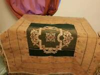 Persian hand made table mates and table cloth