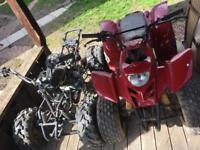 2 x 125cc Quad Bikes