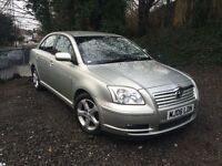 TOYOTA Avensis 2.2 D-4D T Spirit 4dr Saloon *Full Service History* 1F Keeper *Black Leather Interior