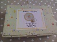 Baby Gift Boxed Mug and Bowl Set NEW Aynsley Nursery Collection