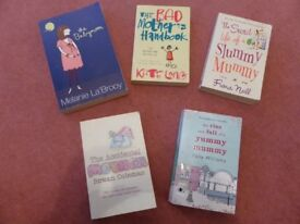 Brilliant set of 5 yummy mummy books (great to read if pregnant or just had baby!)