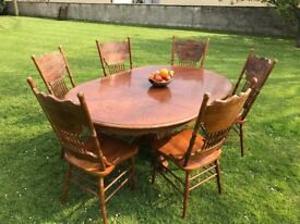 Expandable Table & Chairs - Full Set