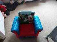 Mickey mouse arm chair
