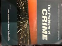 The Problem of Crime 2nd Edition edited by John Muncie and Eugene McLaughlin
