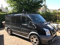 Ford Transit 6 seater / sleeper Dayvan camping van with towbar roofrack and roofbox