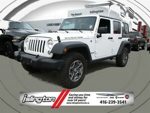 2016 Jeep WRANGLER UNLIMITED Rubicon - 4x4, 3.6L V6 **LEATHER**N